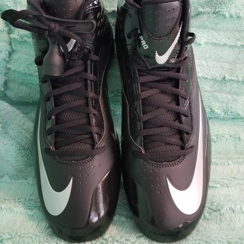 reputable site ccf98 714fc Nike Code Pro Football cleats.- 0