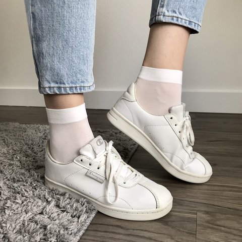 b74c5f3db621 Vintage Champion Tennis Shoes. These are so on trend right - Depop