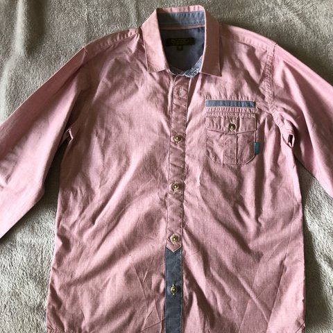 beffc7714 Boys Baker by Ted Baker shirt age 11 in excellent condition