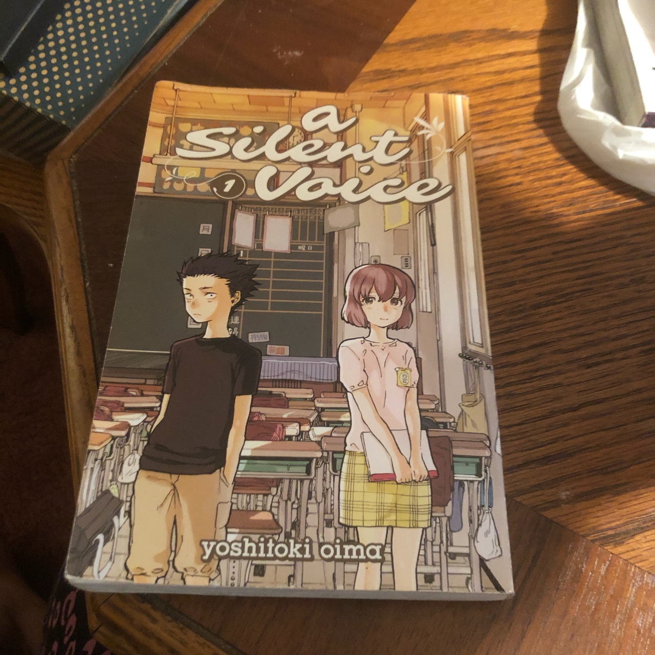 A Silent Voice Manga Book 1 Price Is Depop