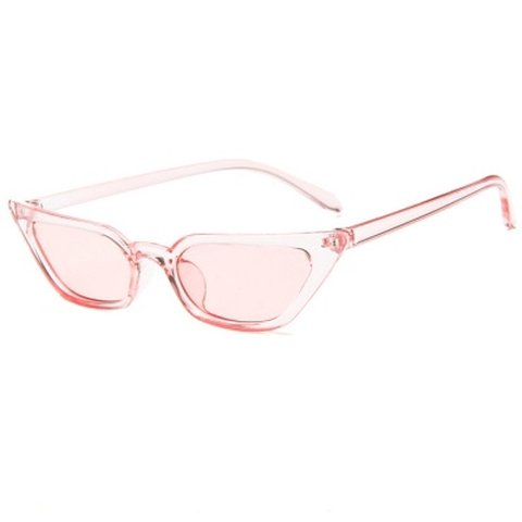 414fad7d60d3d Pretty little thing pink clear cat eye sunglasses in perfect - Depop