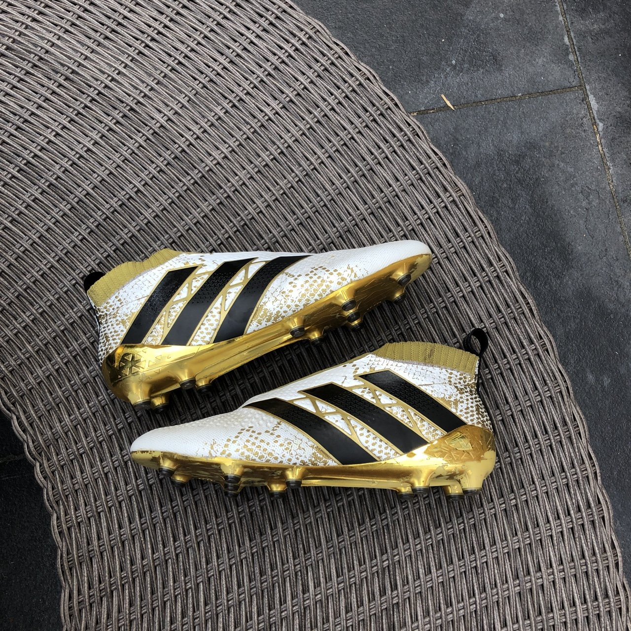 🔥Adidas 16+ Pure Control White and Gold🔥 Authentic 550aa8a3b