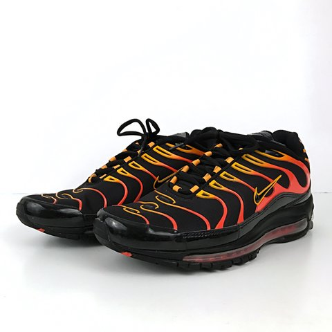 e3c5ea56c9 @17treasures. 3 months ago. Little Rock, United States. 💥FREE SHIPPING💥 Nike  Air Max 97 Plus Size: Mens 10. Color: Black/Black-Engine 1-Shock Orange