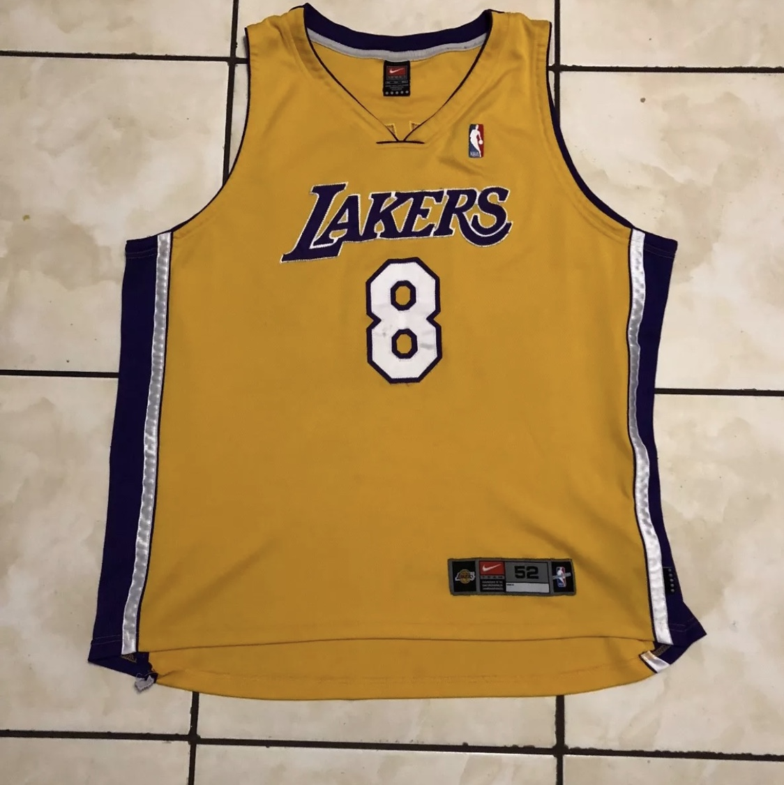 new style 43d00 481d1 90s Kobe Bryant Lakers jersey number 8 from his... - Depop