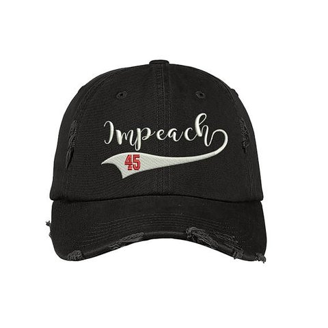 "c6c779bc1b476 Impeach 45"" Dad Hats One Size Fits All Colors🌈  Black"