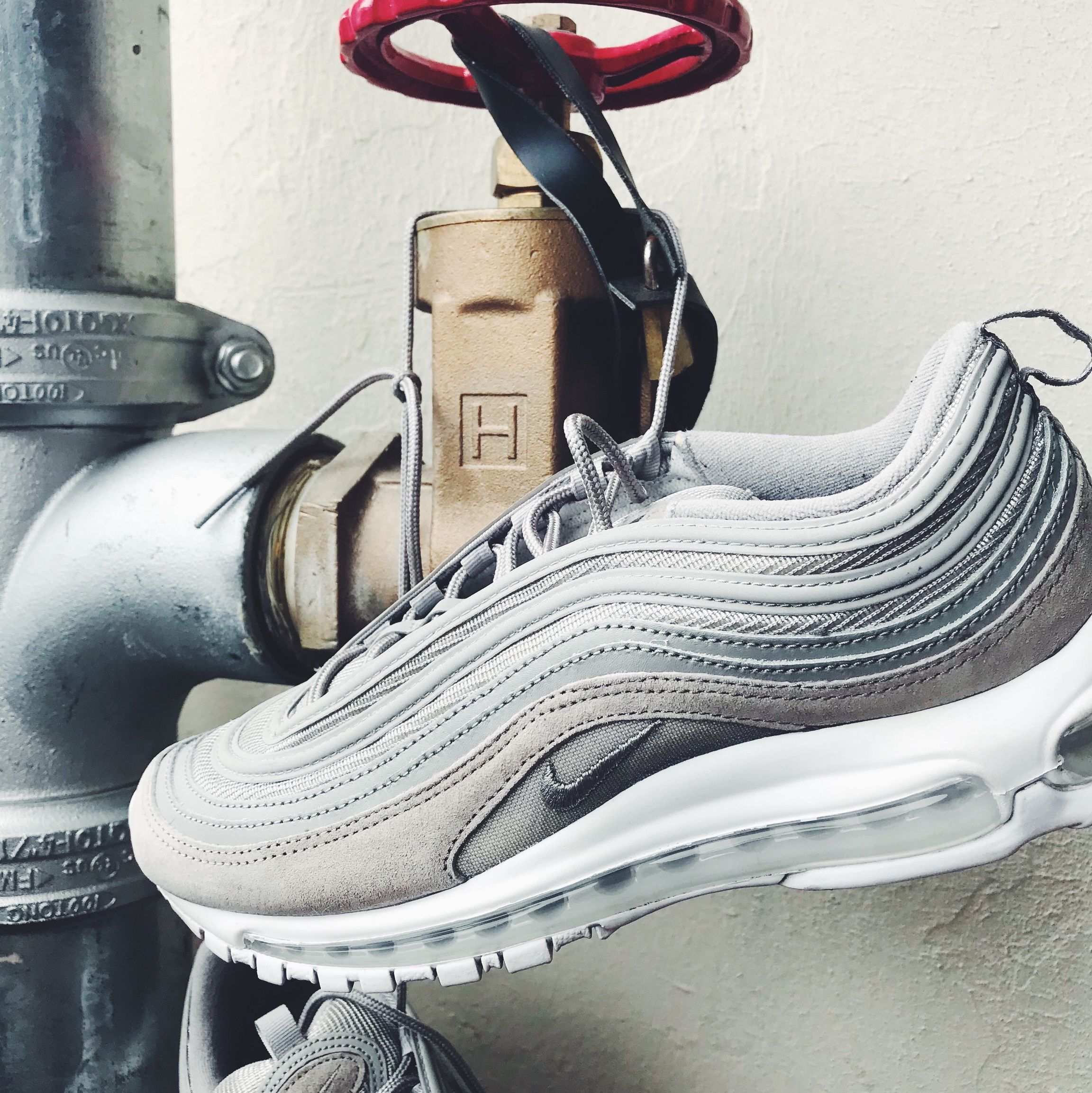 air max 97 grey suede