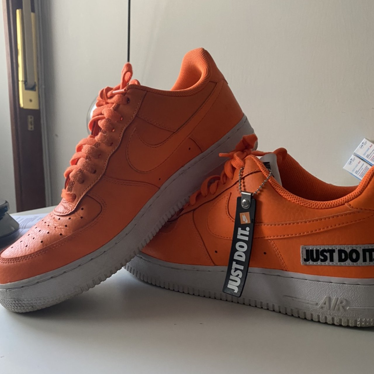 air force 1 arancioni fluo