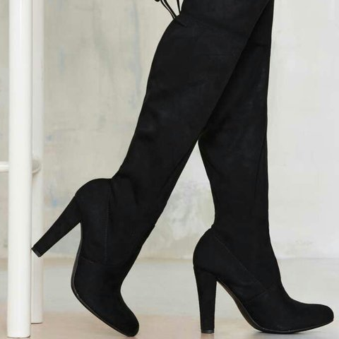 1c3941347764aa @tepni. 3 years ago. Eugene, OR, USA. selling my Steve Madden Gorgeous Over  the Knee Boots!