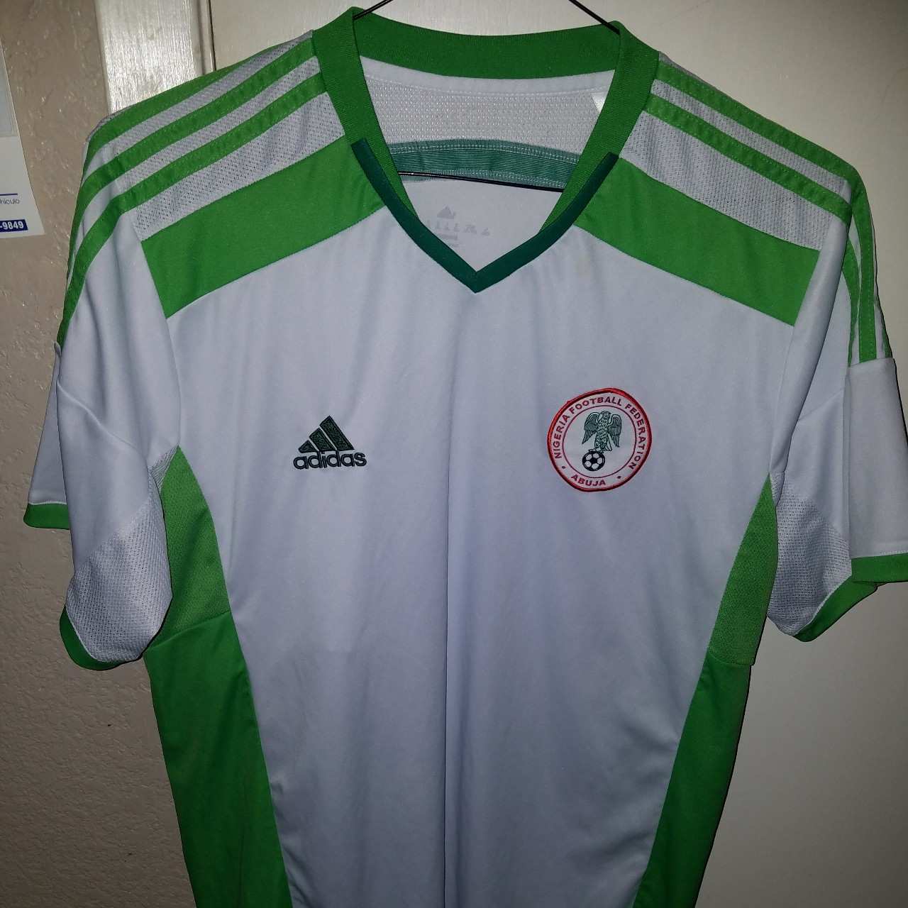 check out f11e4 f6cec Adidas Climacool 2014 World Cup Nigeria Away White ...