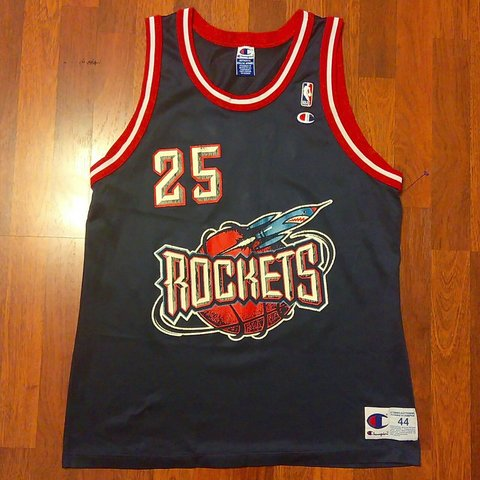 47762ca78 Rare Vintage 90 s Houston Rockets Robert Horry jersey by in - Depop