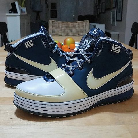 new products 4d195 522bc Vintage 2008 Nike Zoom Lebron- 0