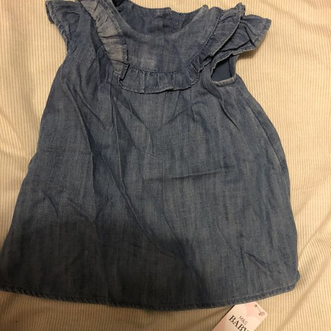 8f6421c9a Marks And Spencer Baby Girl 3 Piece Set Baby Girl Denim Depop