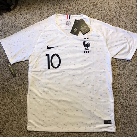 ff14ce1d2 Mbappe France Jersey ~New with tags ~Size Large ~Two stars - Depop