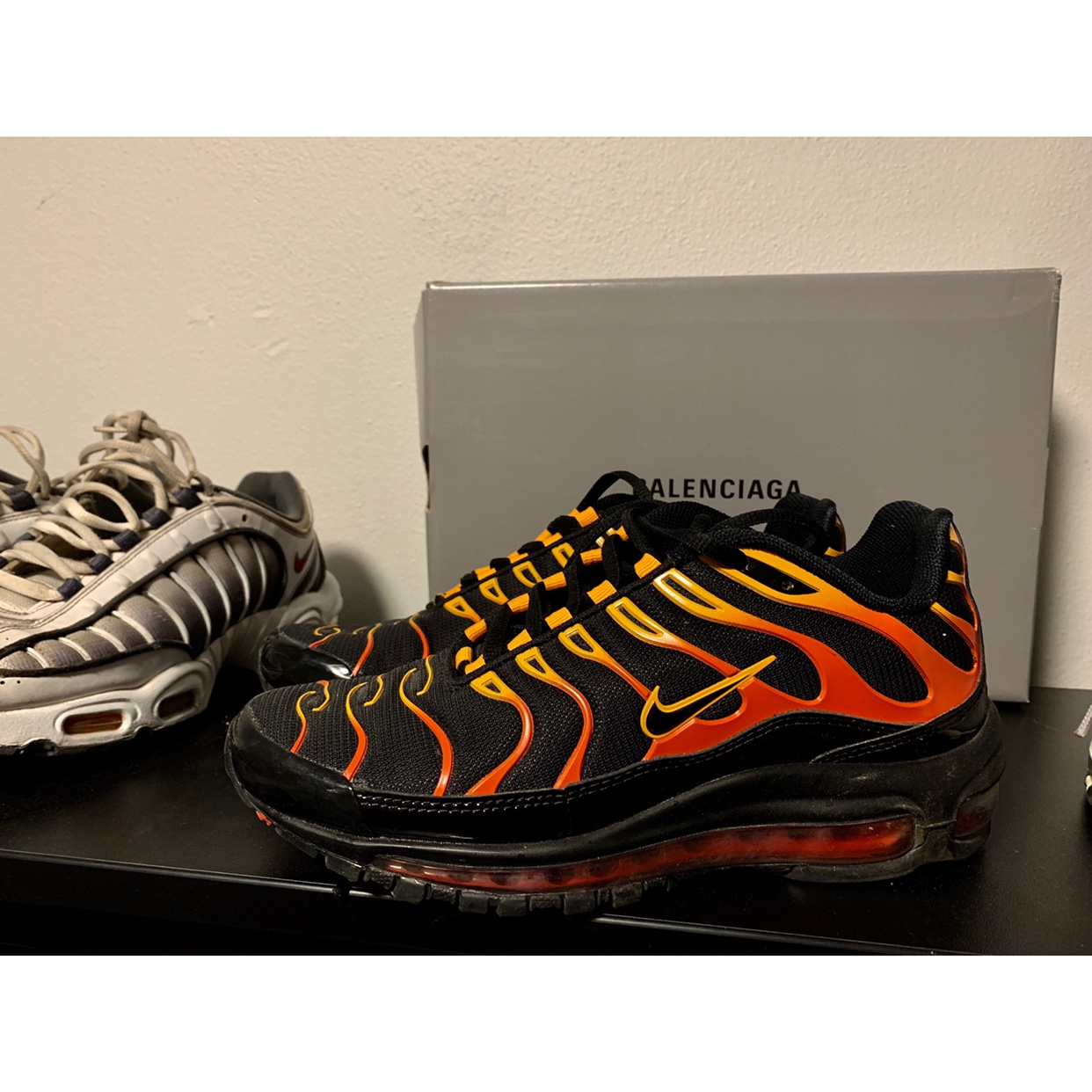 low priced e5fa9 bc6a0 Nike Tn x 97 2018, size Us 7, 8/10 condition... - Depop
