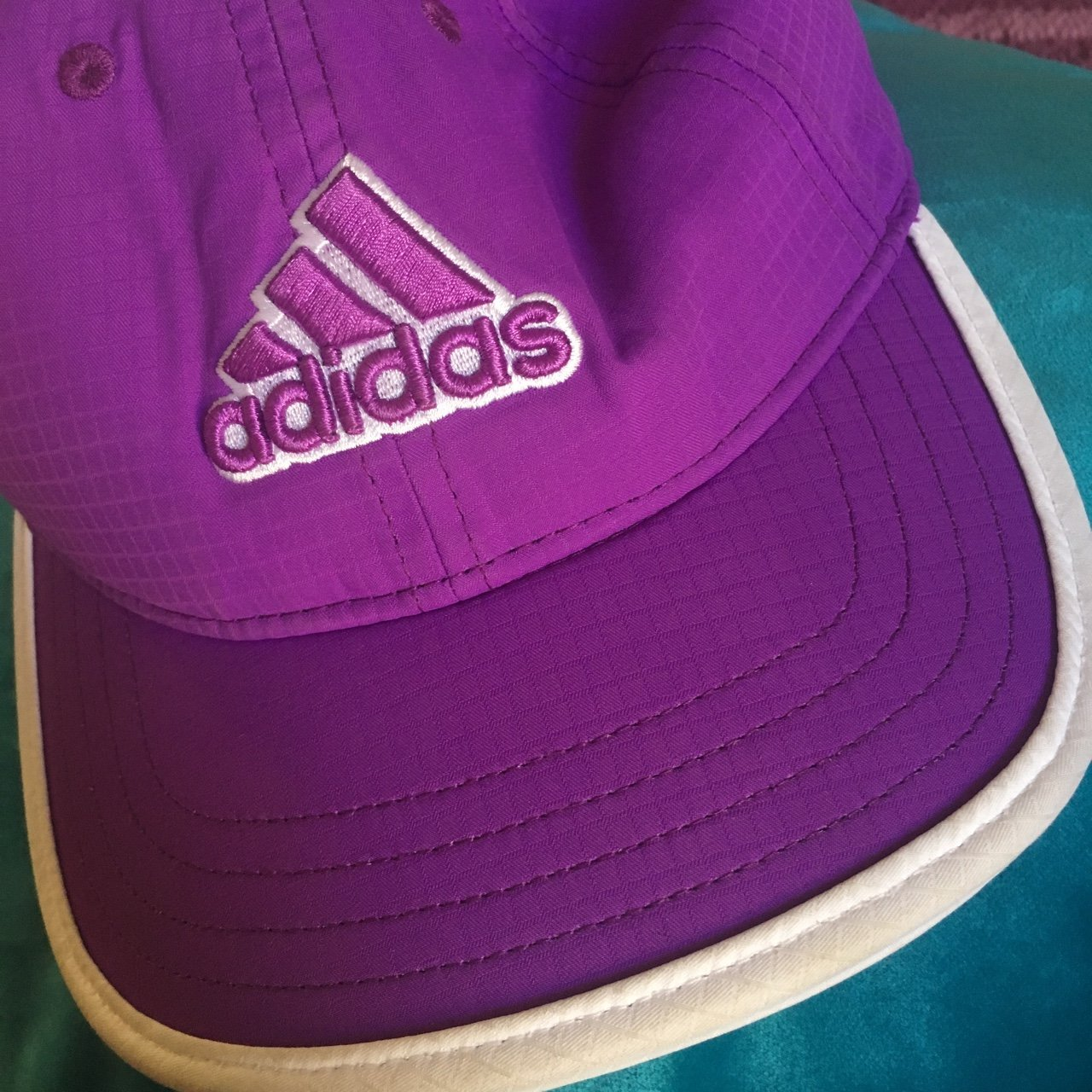 Purple adidas cap(the colour doesn t show up great in the - Depop cd9071aa65a