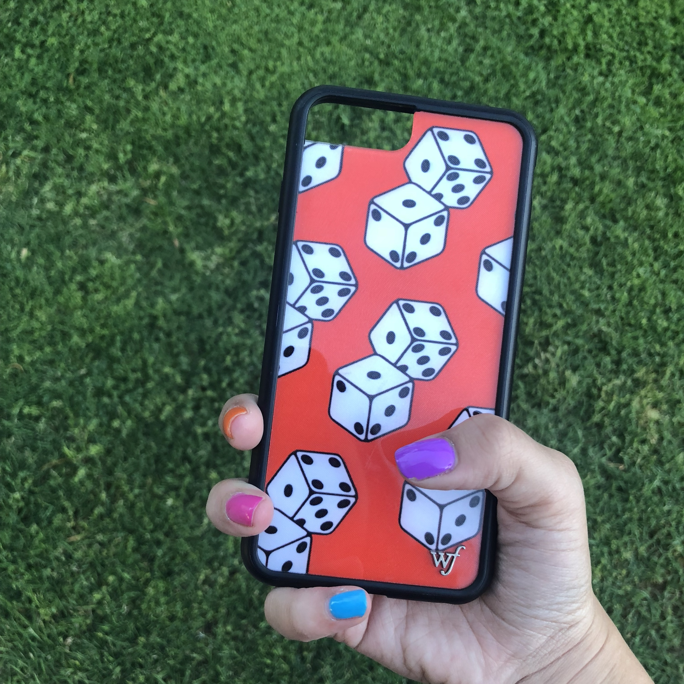 ON HOLD Wildflower Sydney Carlson Lucky Dice Phone    - Depop