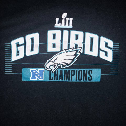 Philadelphia Eagles NFC champions shirt. Clean. Never worn. - Depop 664ac92b2