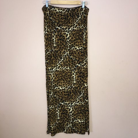 5a06d960ac89 @gottobekiddingme. 4 months ago. West Valley City, United States. All over leopard  animal print maxi skirt ...