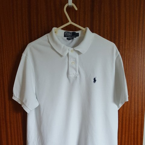 fc3976de @csmarty89. 9 months ago. Dundee, GB. White Ralph Lauren Polo Shirt Size L Custom  Fit