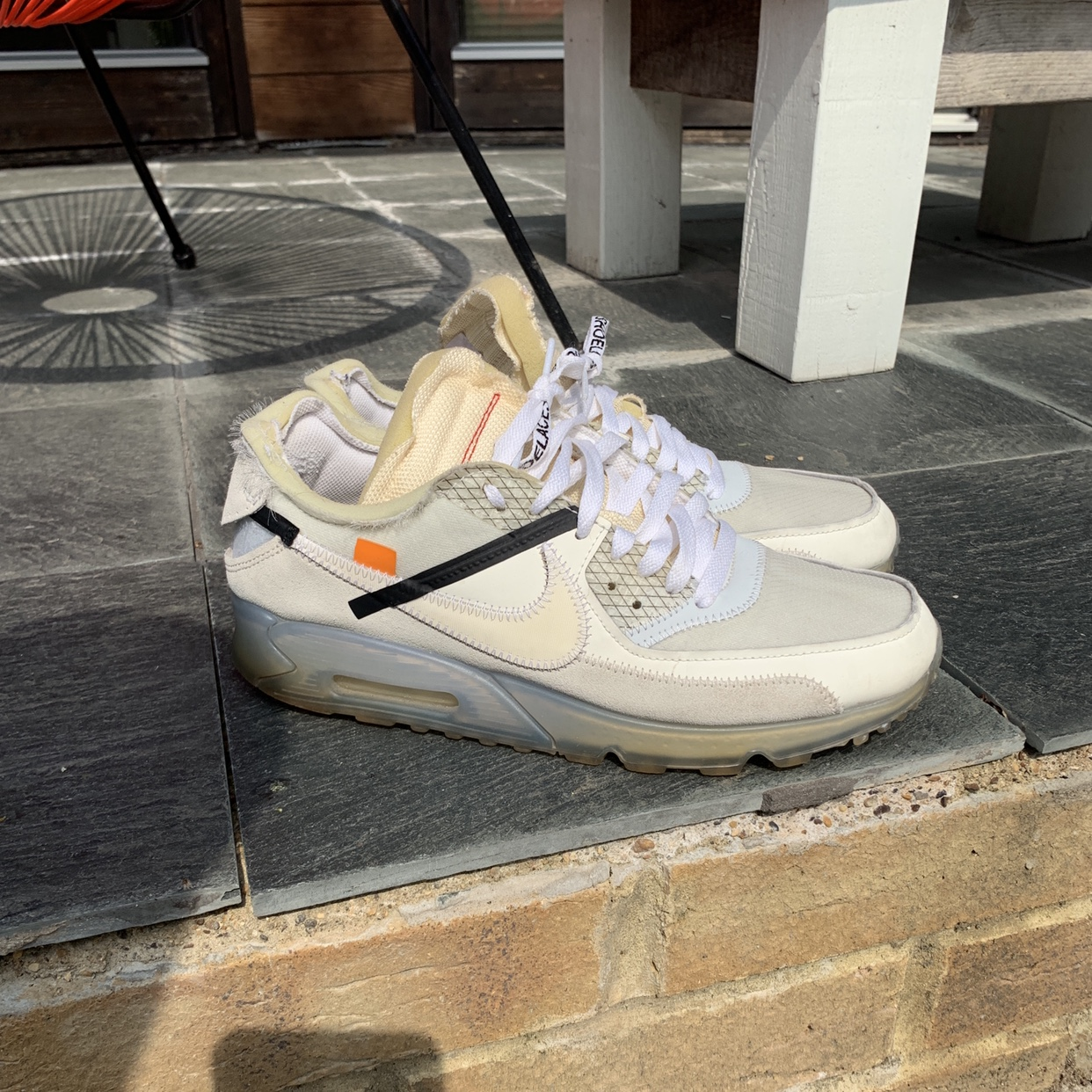 off white air max 90 yellowing Shop