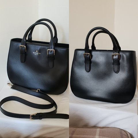 c456f4a61 ♤ KATE SPADE BLACK BAG ♤ ***RESERVED, DO NOT BUY sized, - Depop