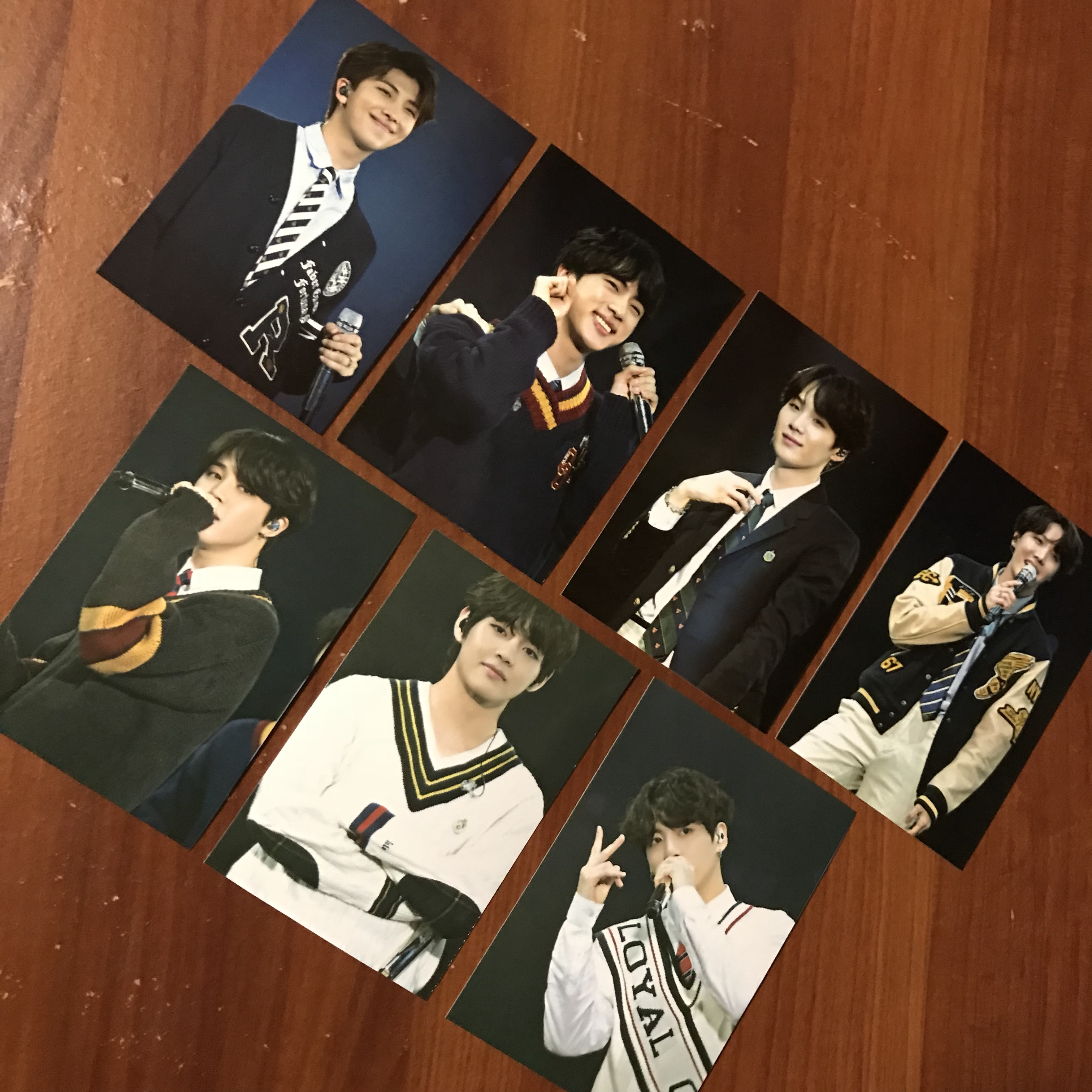 a set of bts photocards - images from the japan 4th    - Depop