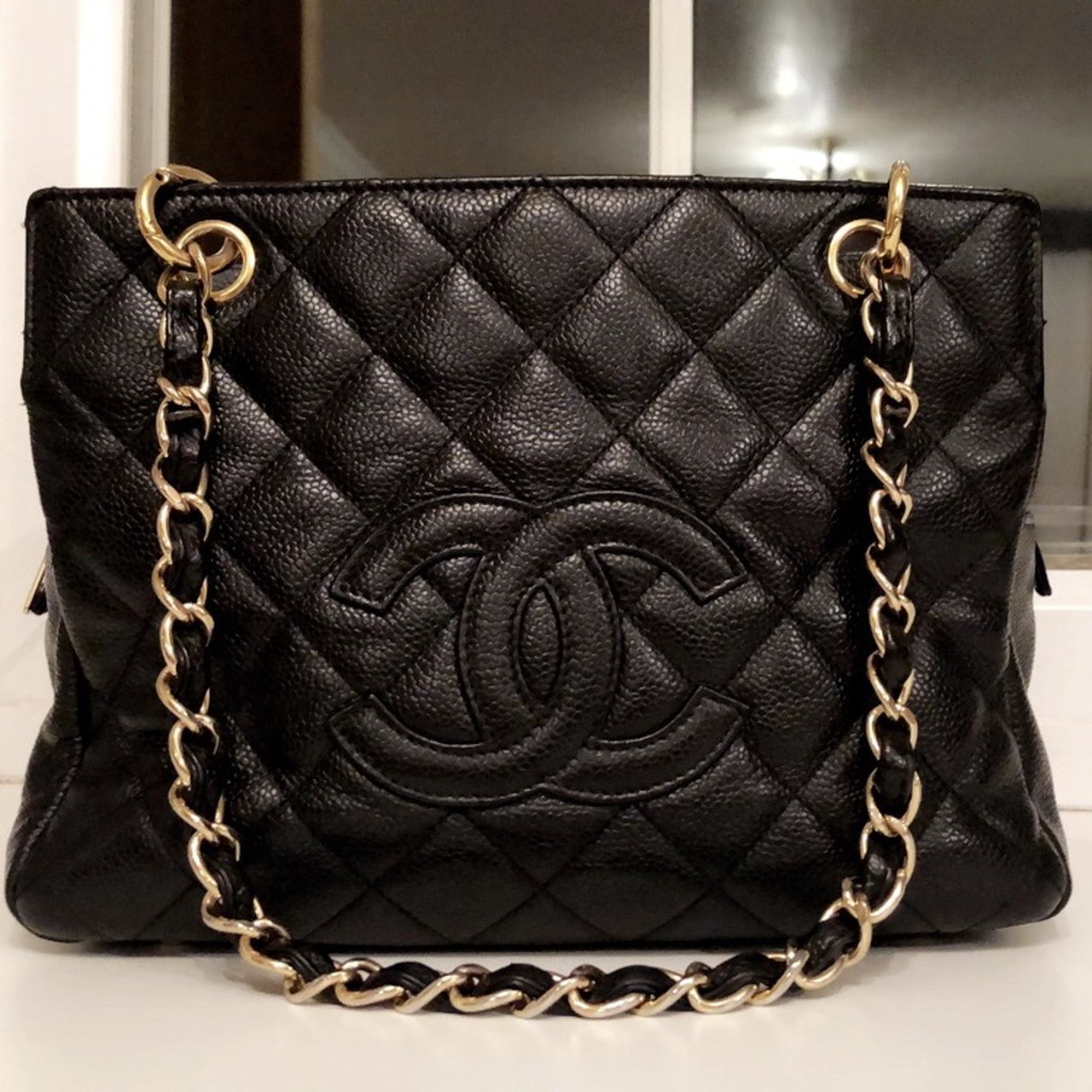 9863ace5fff0 @bagperfect. last month. Loughborough, United Kingdom. TODAY ONLY Authentic Chanel  Petite Timeless Caviar Quilted Tote
