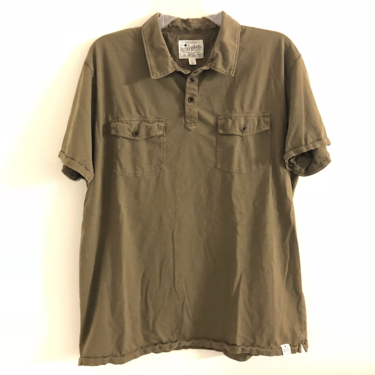 b786b6b79 Olive green polo by lucky