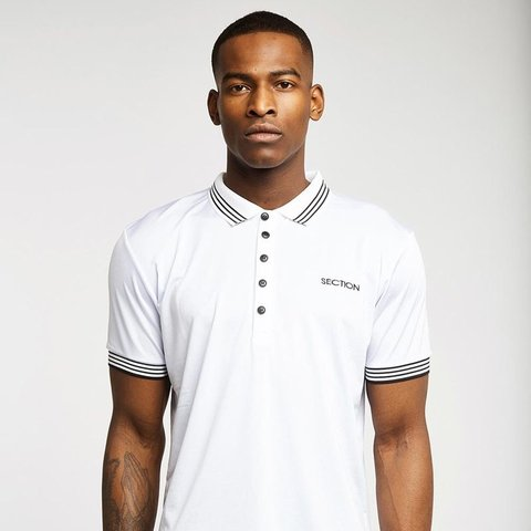 c53ceb1b2286 @aaronsectionclo. 6 months ago. Coventry, United Kingdom. Section White  Polo Shirt Smart/casual done correctly ...