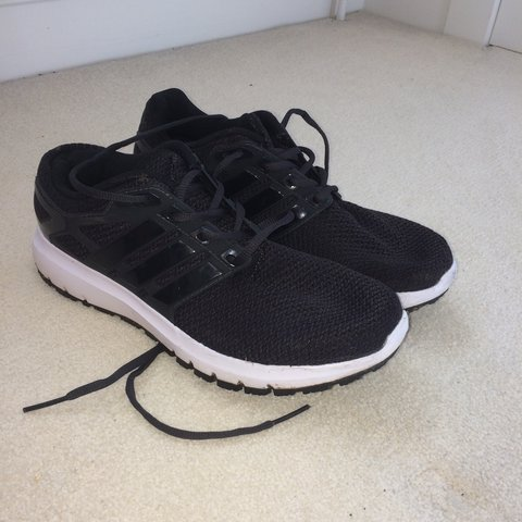 00c936afc838a Adidas Black Cloudfoam Trainers Good condition