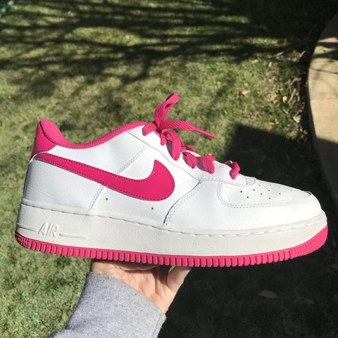 huge discount 182f7 88785  taylerllanas. 4 months ago. Lubbock, United States. Hot pink nike Air  Force 1!