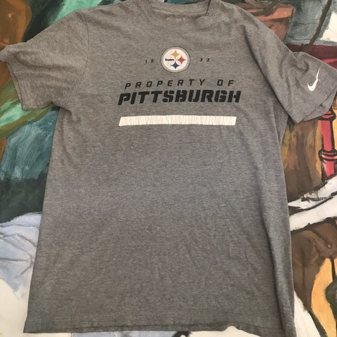 0588d46518e7 NFL Team Pittsburgh Steelers Nike Official T-Shirt With Team - Depop