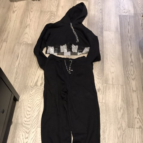 e1b72ce081d3ac SOLD  Christian Cowan runway sample sweatsuit S S 2019. - Depop