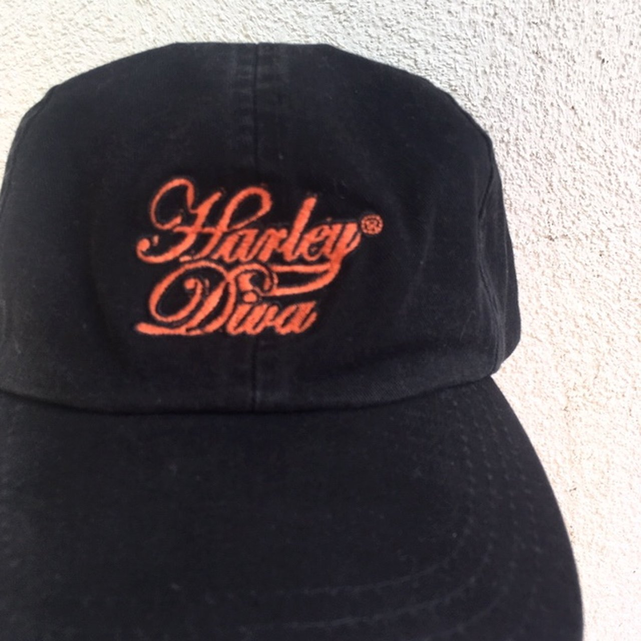 "Official Harley Davidson snapback hat that says ""Harley such - Depop 38b658a650e"