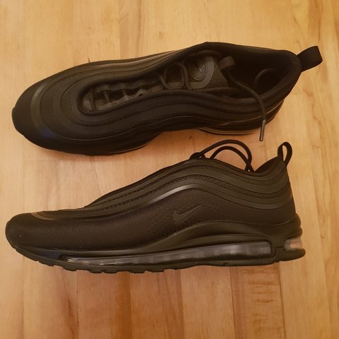 5bc9c517dd3 NIKE AIR MAX 97 TRIPLE BLACK SPECIAL EDITION SIZE 9. ONLY - Depop