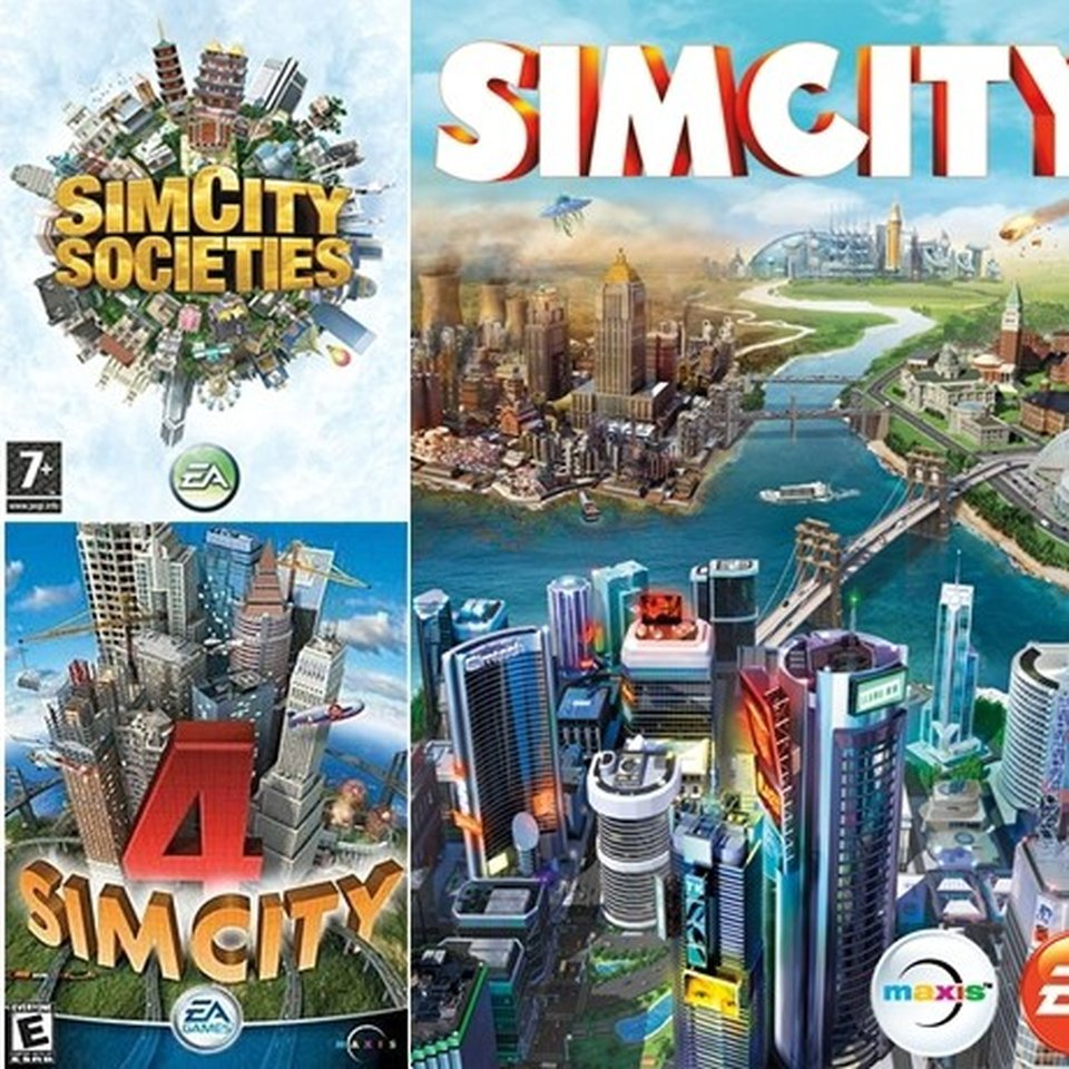 Sell & Buy Games Sims City for Pc Laptops Selling    - Depop