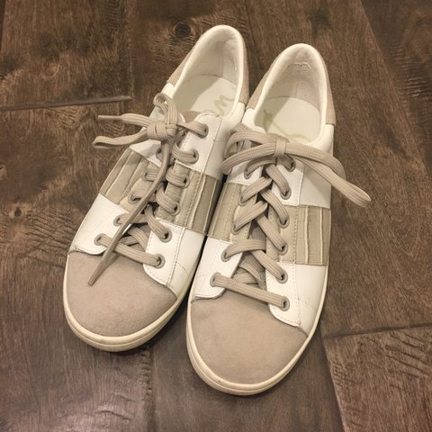 5f971c123 Sam Edelman Marquette Tennis Shoes Lace up tennis shoes. So - Depop