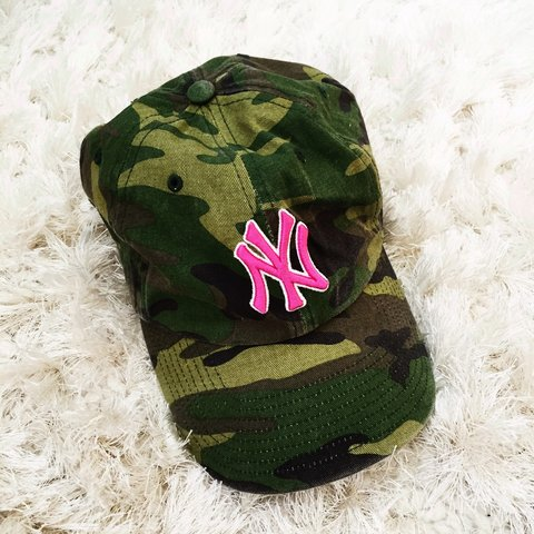 7e70c792c41 New York Yankees camo cap.👽  NY  yankees  camo  cap  hat - Depop