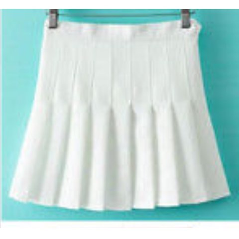 273a786a67 @_racheldurr_. 11 days ago. Hermitage, Ireland. White pleated tennis skirt  from eBay