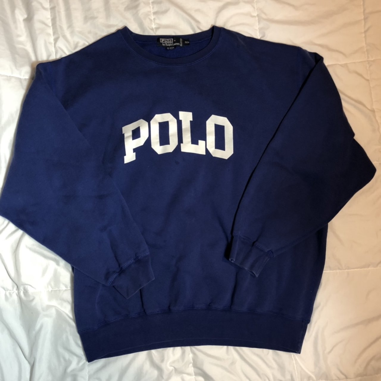 Polo Ralph Lauren sweatshirt Women s XXL (fits like a men s - Depop 70aad5264c