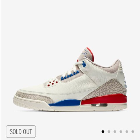 31aa5022bc66 Air Jordan 3 International Flight Brand New UK Size From Box - Depop