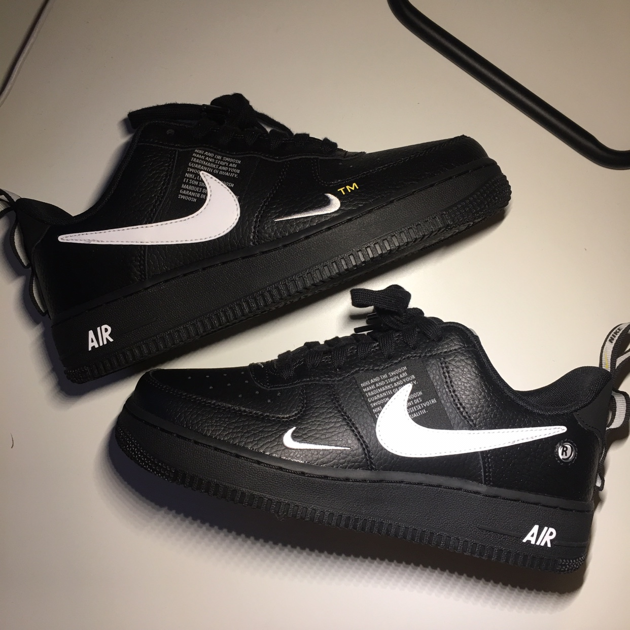 air force 1 black size 6