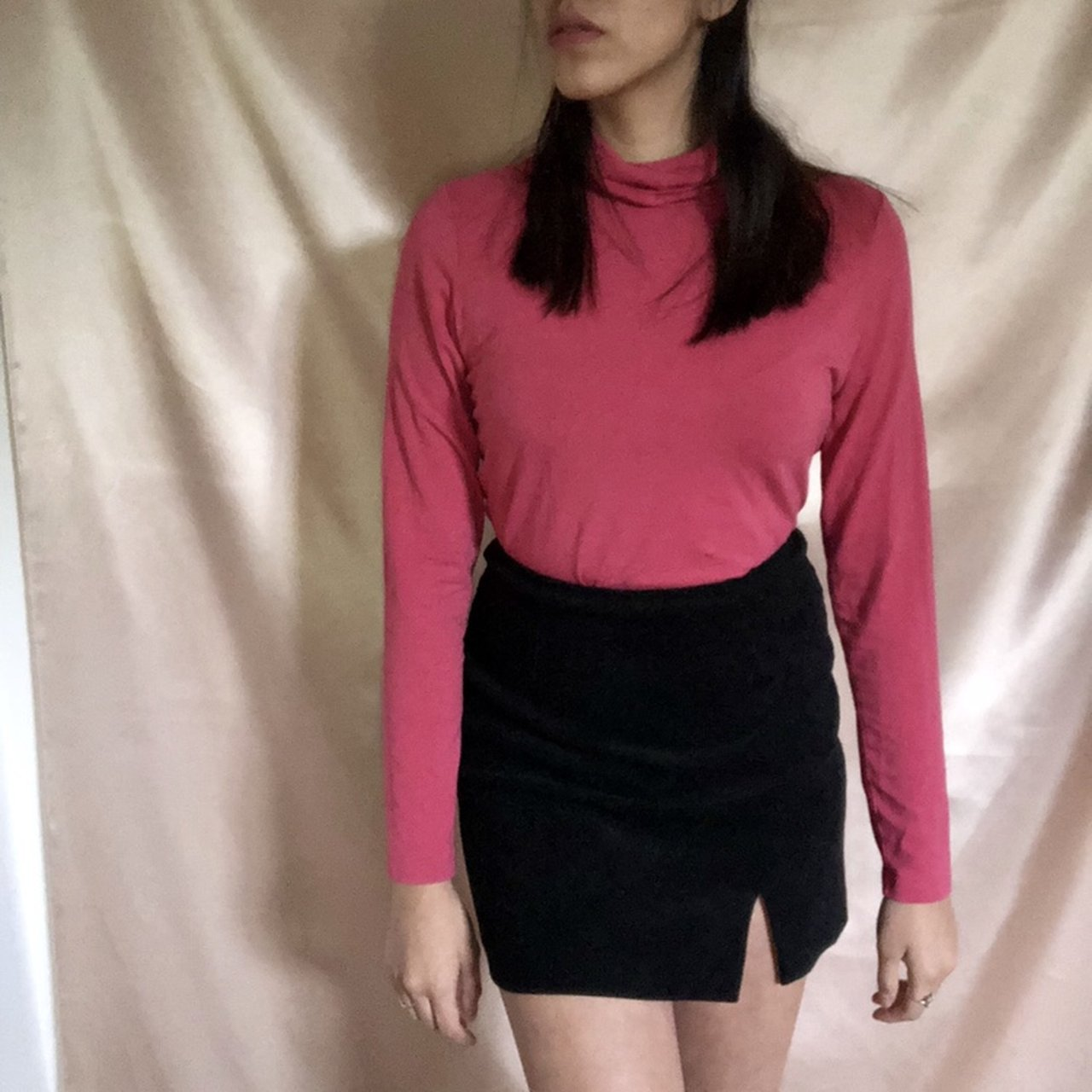 48c5bded1c3 Gorgeous pink turtleneck! Perfect for fall!