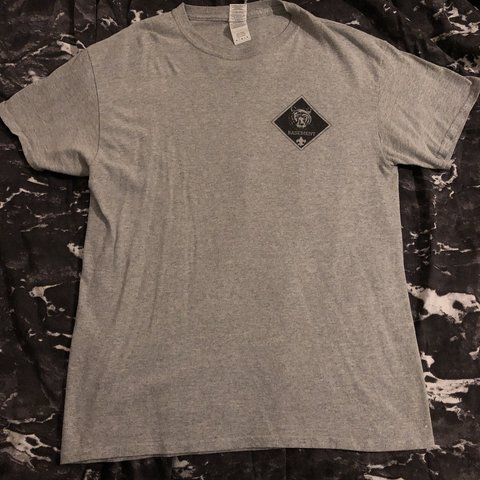 bbbb8cd3abd BASEMENT UK BAND TEE SIZE M GREAT CONDITION FREE -  obey - Depop
