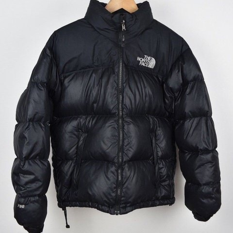 Mens North Face Nuptse 700 Down Black S Size Small Puffer is - Depop ee9e6e573