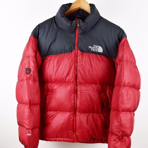 6f842a956b Mens RED North Face NUPTSE Size MEDIUM Down Puffer Jacket is - Depop