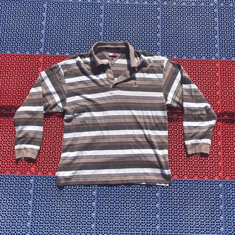 80655278 @imcollinyourmom. 16 days ago. Huntsville, United States. Vintage Tommy  Hilfiger Long Sleeve Polo.