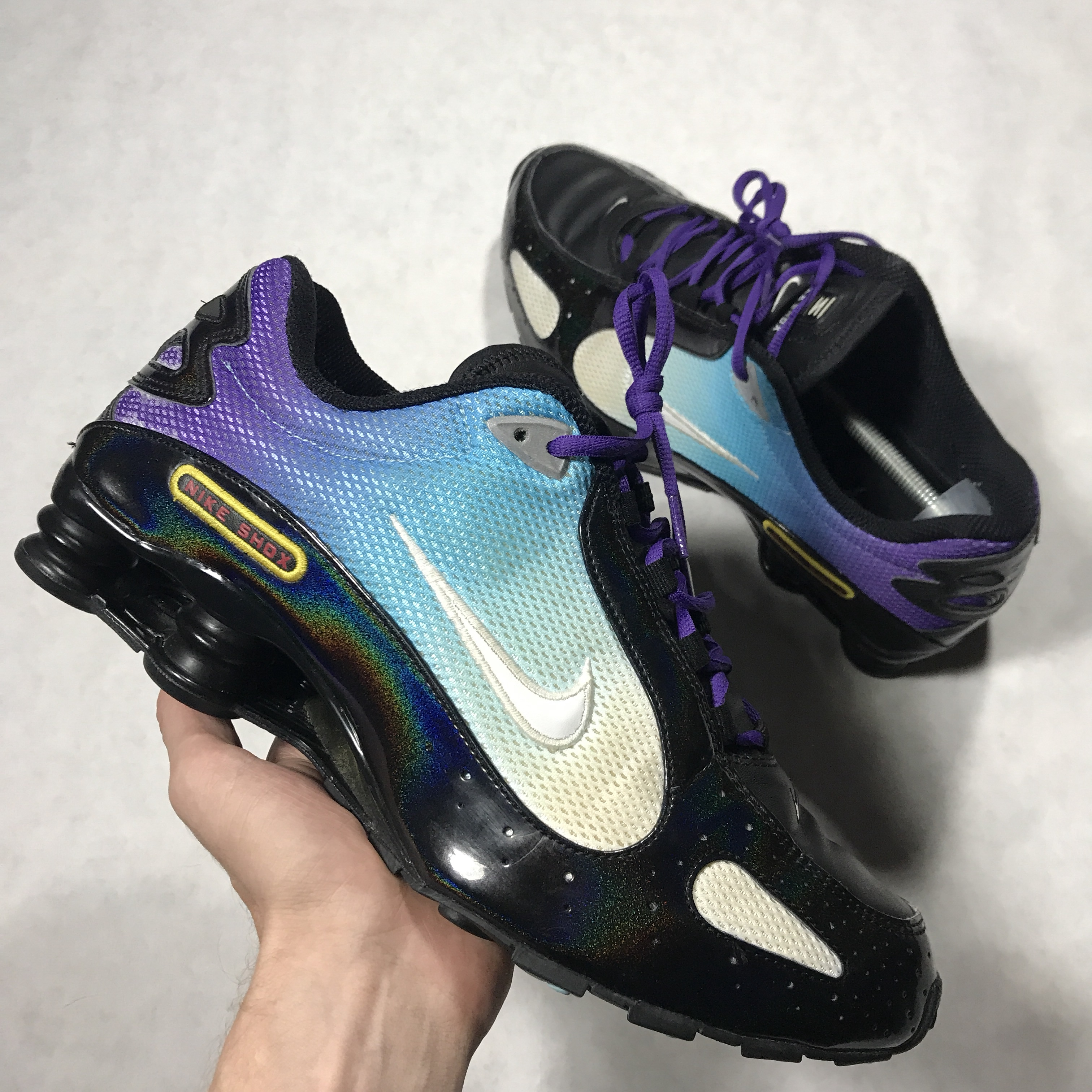 detailed look 9a407 8af6c Vtg 2008 Nike shox monster