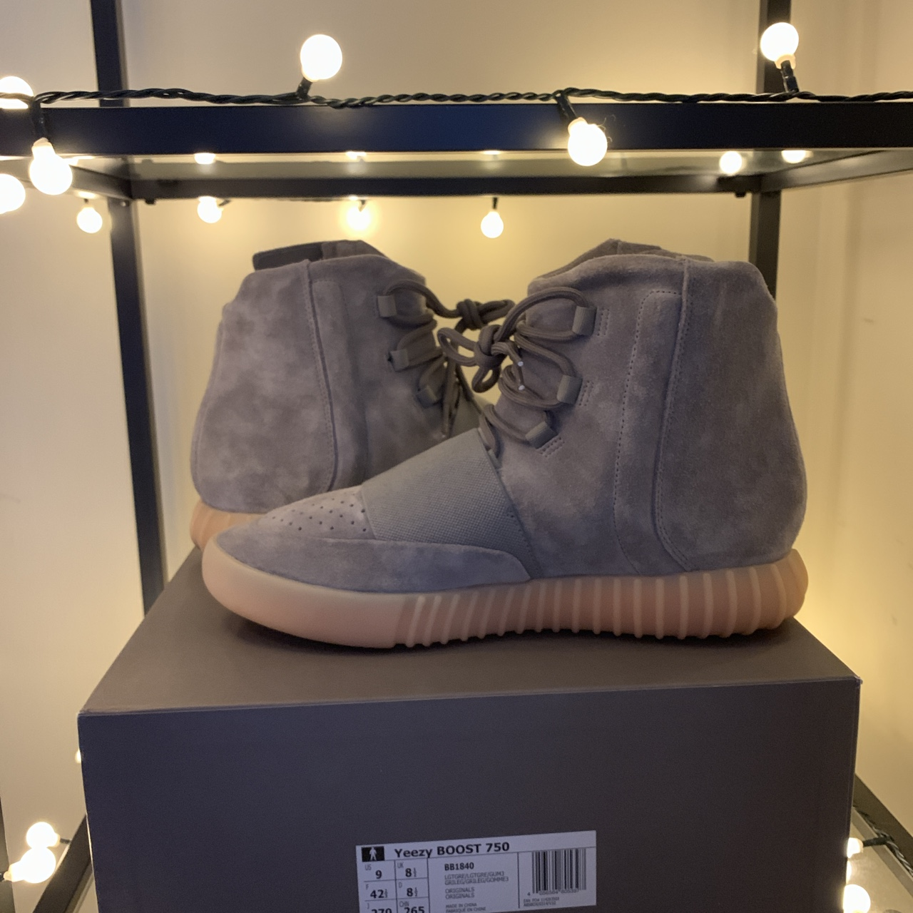 Fastest Frog Play Championships — Yeezy 750 Grey Gum Retail
