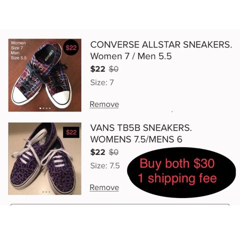 591e3bb17e4b BIG PACKAGE DEAL! Save on shipping. VANS SNEAKERS. WOMENS - Depop